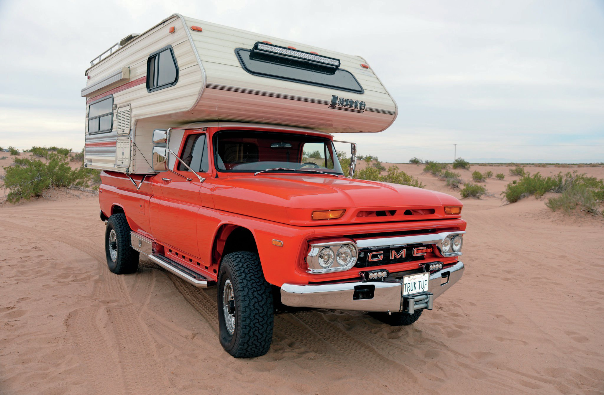 Cummins Powered 1966 Gmc Camper Truck Photo Image Gallery