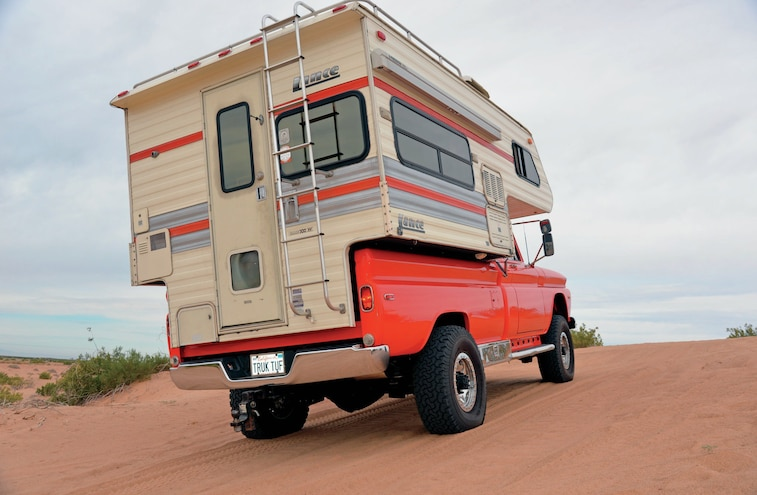1966 Gmc Truck With Camper