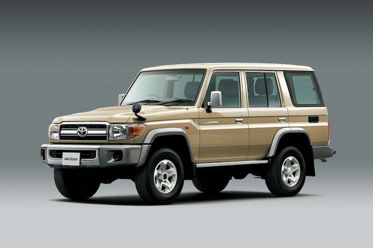Toyota Rereleases Iconic Land Cruiser 70 Series in Japan