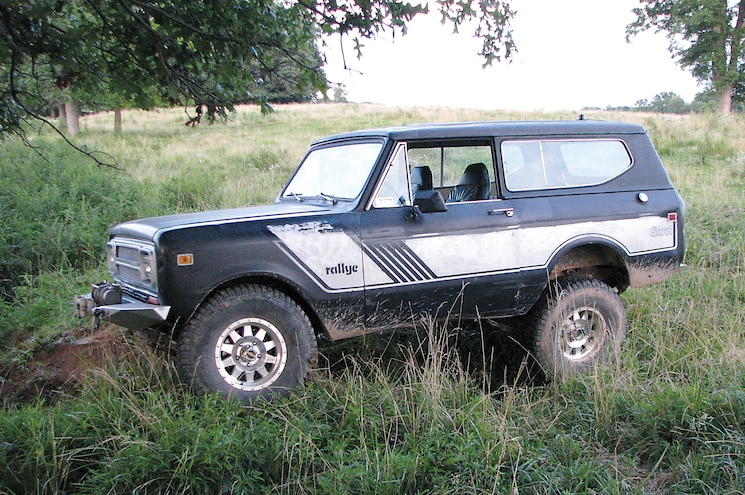 1980 International Scout II Front Three Quarter