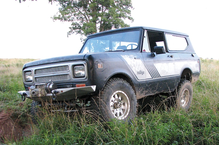 1980 International Scout II Front Driver Three Quarter