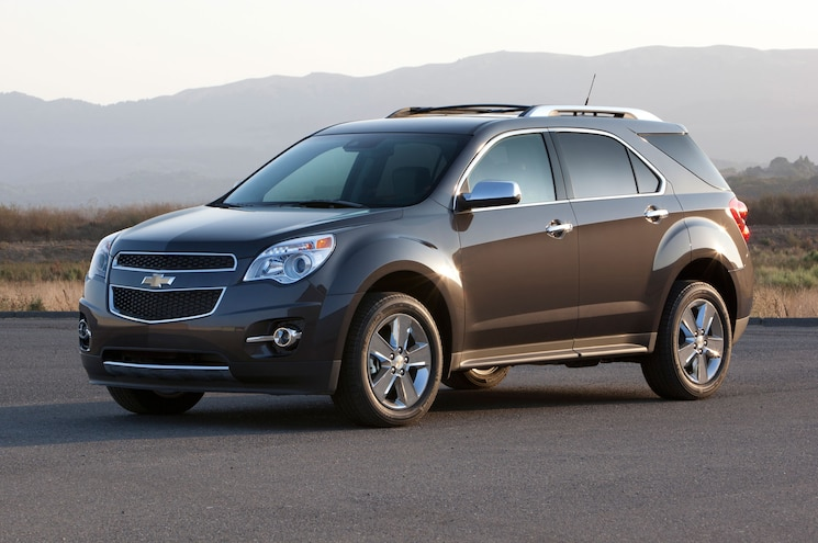 2015 Chevrolet Equinox LTZ With Sunlight