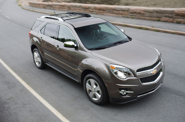 2015 Chevrolet Equinox LTZ From Above Motion View
