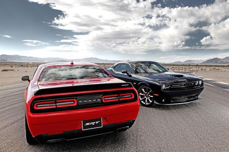 2015 Dodge Challenger SRT Hellcat With 392 Model Wider View