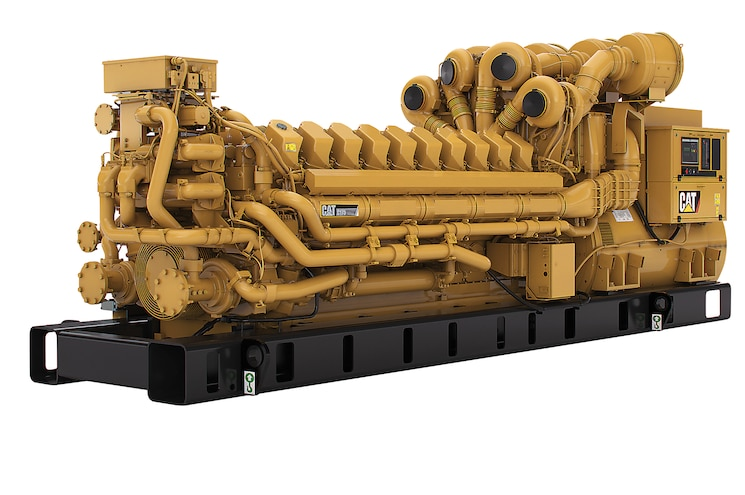 Caterpillar C175-20 Diesel Engine - By The Numbers