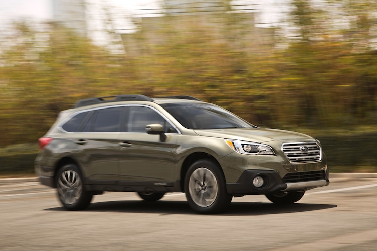 2015 Subaru Outback 2.5i Limited First Test