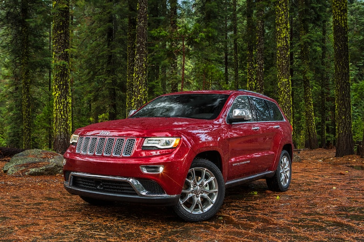 2015 Jeep Grand Cherokee Summit Front Three Quarter
