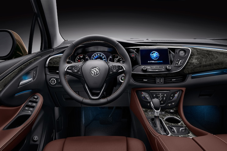Buick Envision Chinese Spec Cockpit