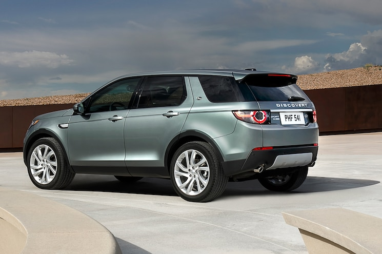 2015 Land Rover Discovery Sport Rear Three Quarter