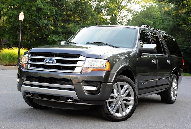 2015 Ford Expedition, Lincoln Navigator Get 5-Star NHTSA Rating