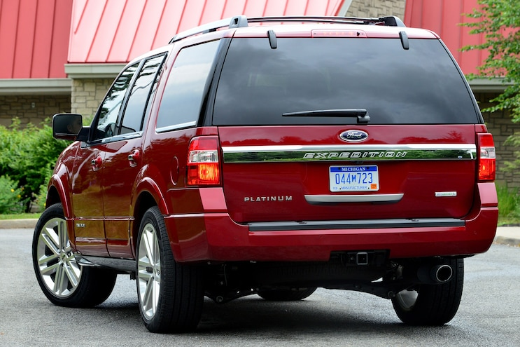 2015 Ford Expedition Rear End