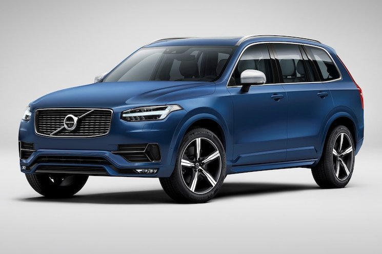2016 Volvo XC90 R Design Front Side View 2