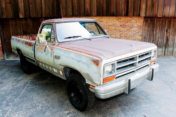 1985 Dodge Ram W350 4x4 Front Three Quarter