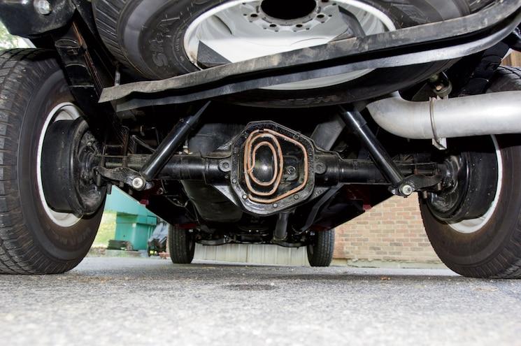 2014 Dodge Ram 2500 Rear Axle