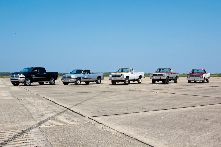 Dodge Ram Trucks Front Three Quarter