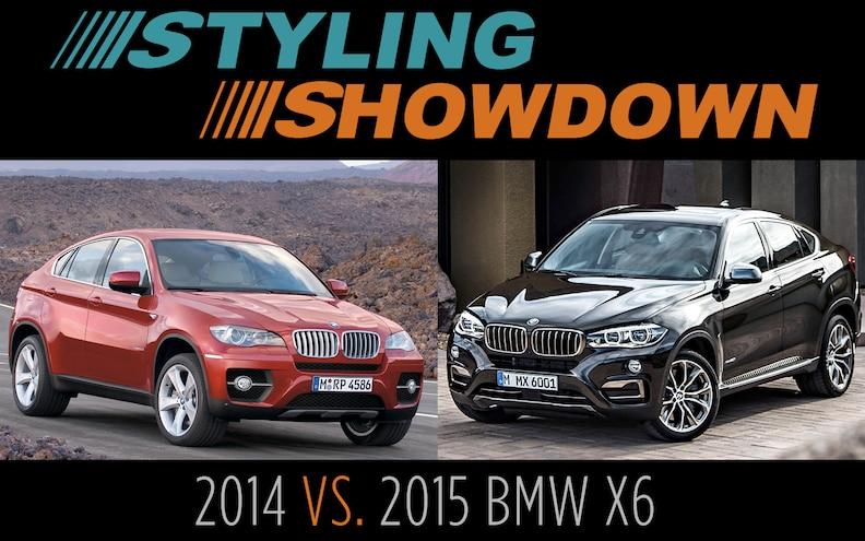 2014 vs. 2015 BMW X6 - Styling Showdown