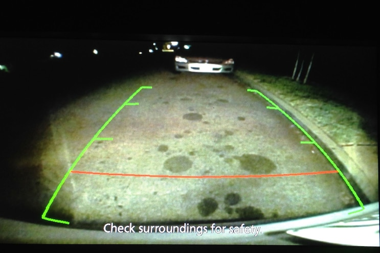 2014 Mitsubishi Outlander SE S AWC Rearview Camera