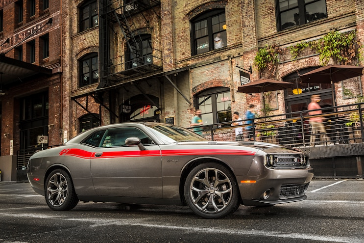 2015 Dodge Challenger RT Plus Front Three Quarter