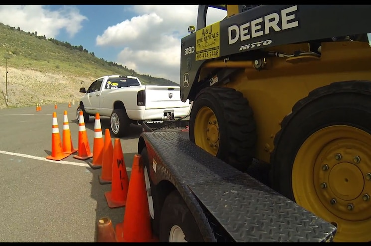 Diesel Power Challenge 2014 - Day 2: Trailer Tow Obstacle Course