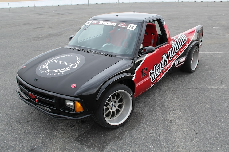 1994 Chevrolet S 10 Front View