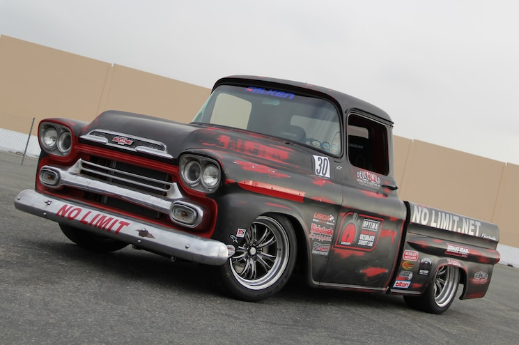 1959 Chevrolet Apache Front View