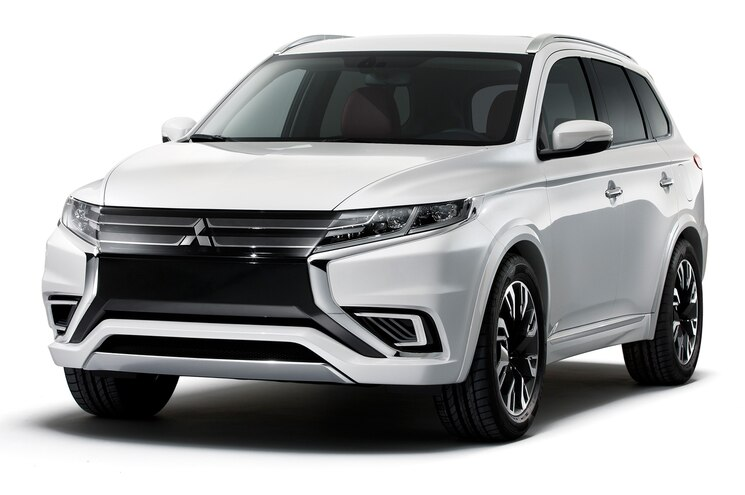 Mitsubishi Unveils Outlander PHEV Concept-S Ahead of Paris Debut