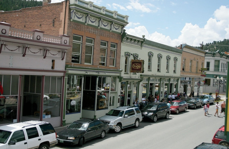 Downtown Idaho Springs
