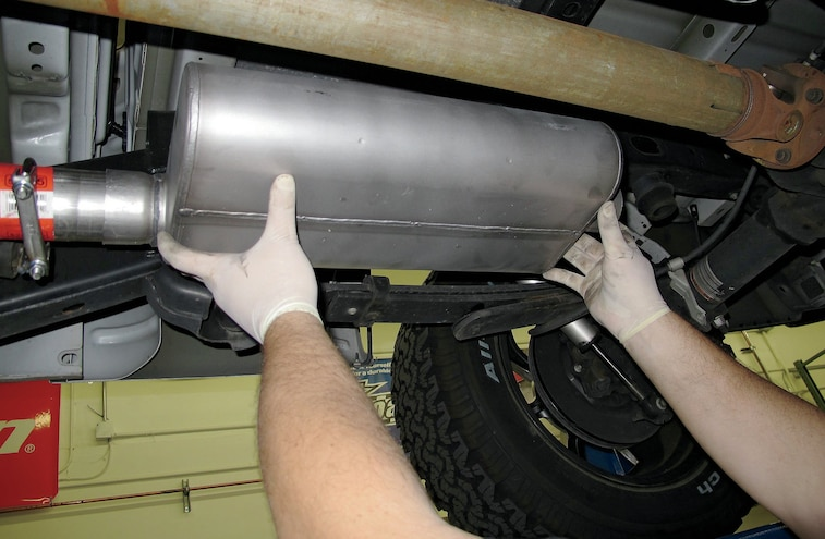 2009 2012 Ford F 150 Intake And Exhaust Install 07