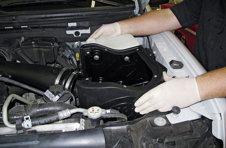 2009 2012 Ford F 150 Intake And Exhaust Install 17