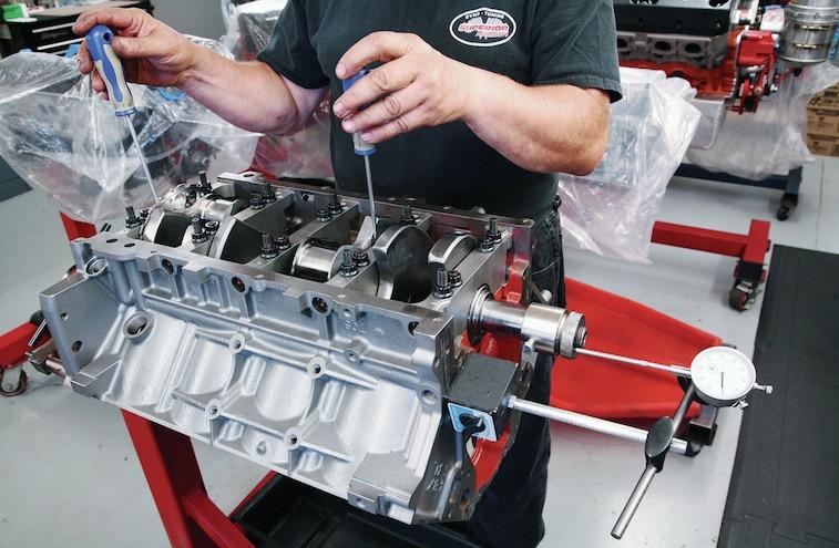 GM 383 Stroker LS V8 Build 003