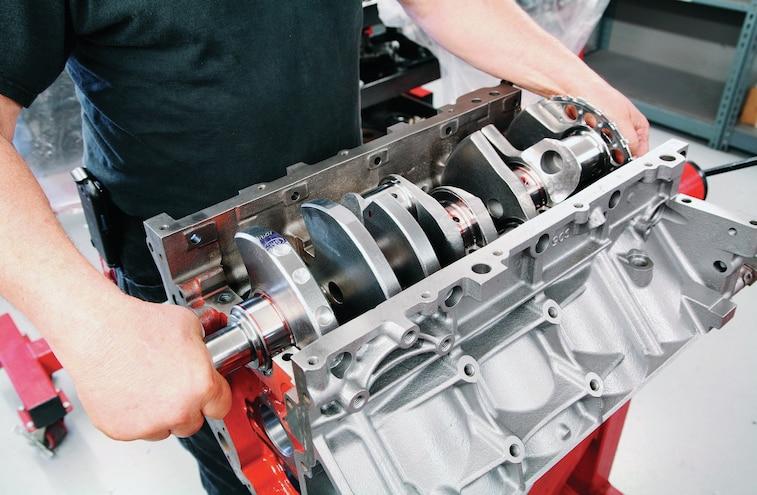 GM 383 Stroker LS V8 Build 001