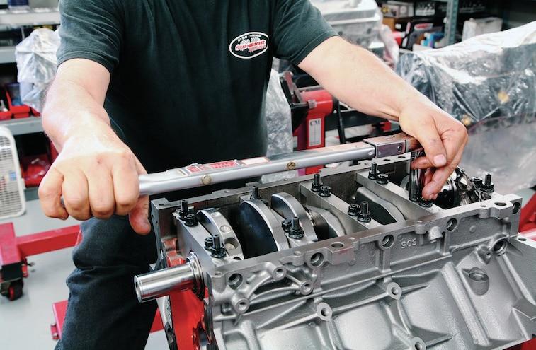 GM 383 Stroker LS V8 Build 002