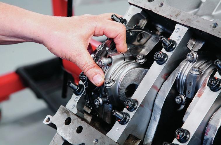 GM 383 Stroker LS V8 Build 007