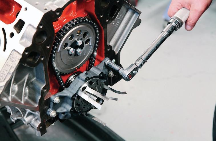 GM 383 Stroker LS V8 Build 010