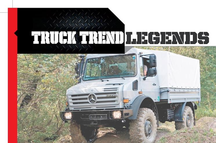 The Mercedes-Benz Unimog - Truck Trend Legends