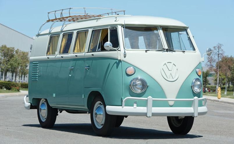 1962 Volkswagen Camper Auctions America  1  Front Three Quarter