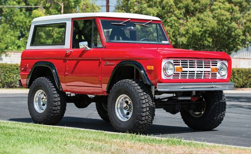 1974 Ford Bronco Auctions America  1  Front Three Quarter