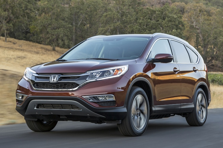 2015 Honda CR-V Wins Motor Trend SUV of the Year
