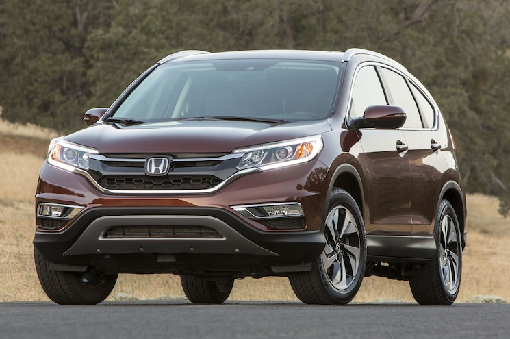 2015 Honda CR V Front Three Quarter View 21