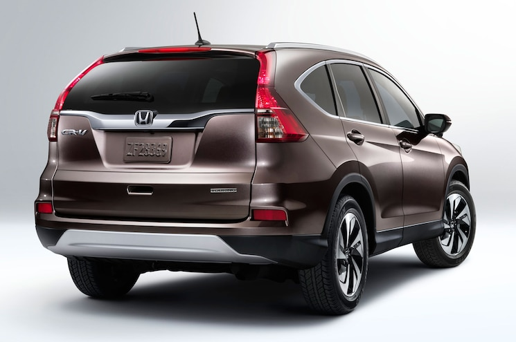 2015 Honda CR V Rear Three Quarter In Studio 2