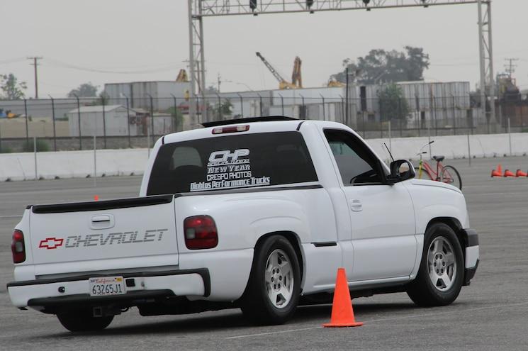 2003 Chevrolet Silverado Rear View