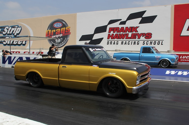 Quarter-Mile Dragstrip - Truckin Throwdown 2014, Presented by EBC Brakes