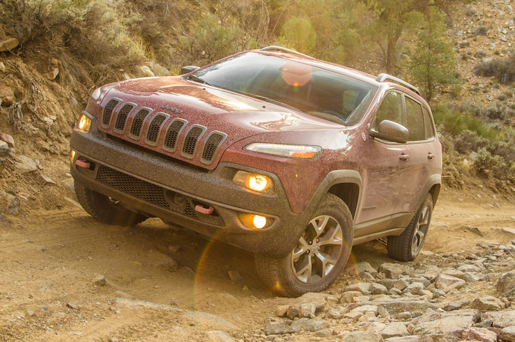 2014 Jeep Cherokee Trailhawk Front
