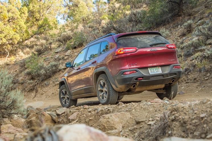 2014 Jeep Cherokee Trailhawk Rear View
