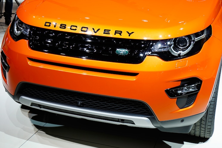 2015 Land Rover Discovery Sport Front End