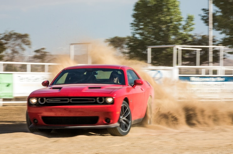 2015 Dodge Challenger RT Scat Pack Front End In Motion 06