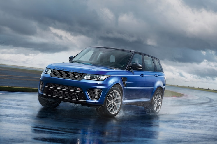 2015 Range Rover Sport SVR Fastest SUV on Nurburgring, For Now