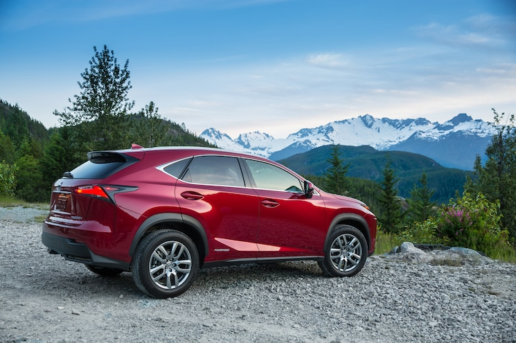 2015 Lexus NX 300h Rear Three Quarters