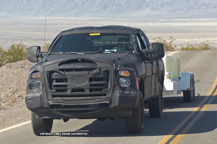 2016 Ford F Series Super Duty Prototype Front 01