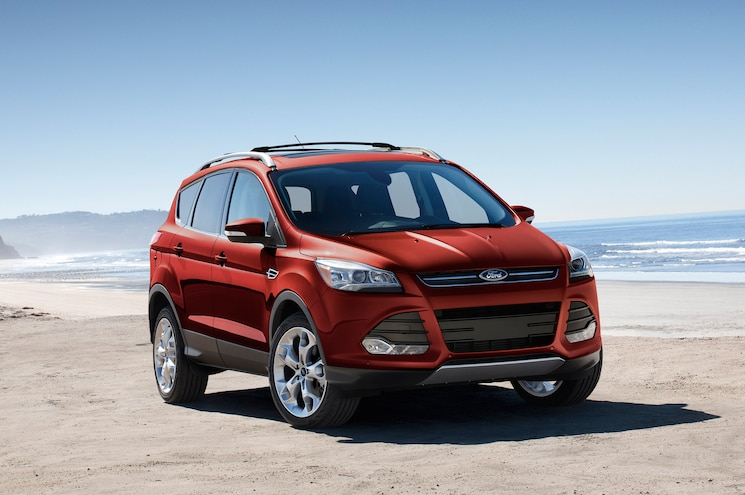 2015 Ford Escape Front End